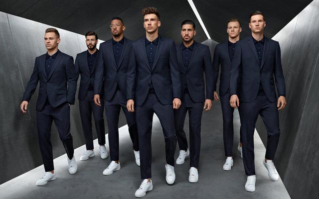世足辣男來了!德國隊穿HUGO BOSS西裝變身根本超模等級 - 每日頭條