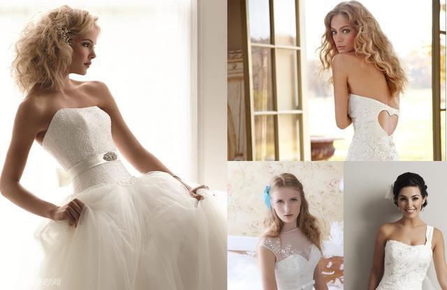 浪漫婚禮從頭開始 婚紗與髮型如何完美搭配 - 每日頭條