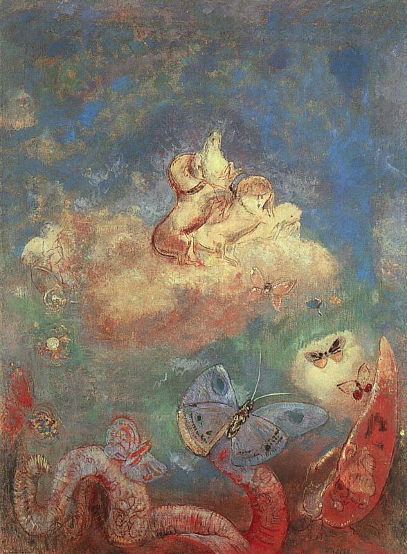奧迪倫·雷東繪畫作品│法國19世紀末象徵主義畫派 - 每日頭條
