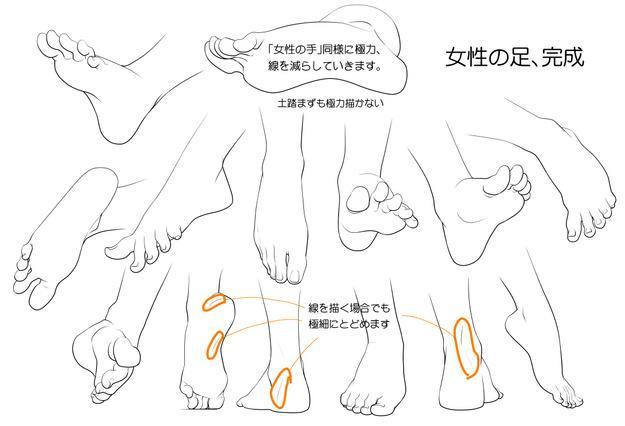 「推薦」漫畫人物的腳怎麼畫?超全面的人物腳部畫法教程 - 每日頭條