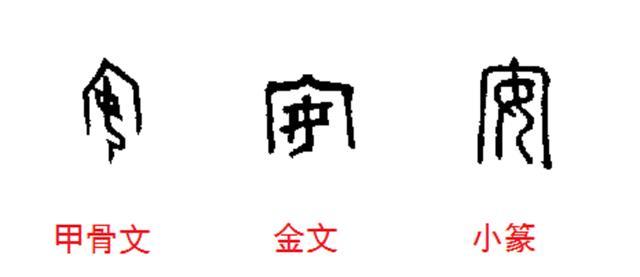 一起學漢字,「安」原來是這個意思,真是長見識了 - 每日頭條