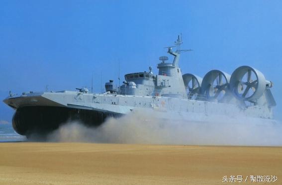 速度63節,搭載超過LCAC氣墊船,可以運載一個營登陸 - 每日頭條