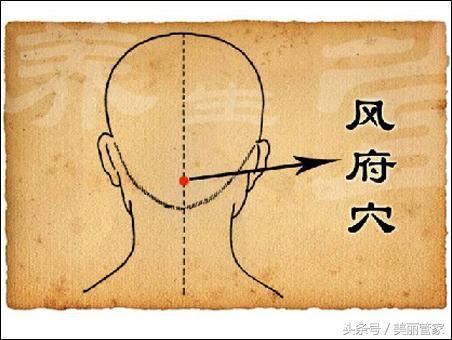 頭部的重要穴位。你真應該了解了解 - 每日頭條
