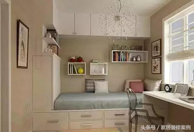 房間小。就別買床。聰明的人都這樣裝可好用了! - 每日頭條