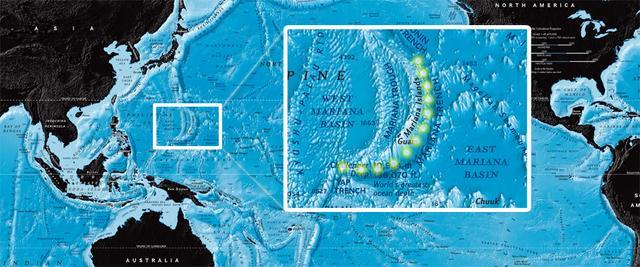 馬里亞納群島海溝 目前所知地球上最深的海溝 - 每日頭條
