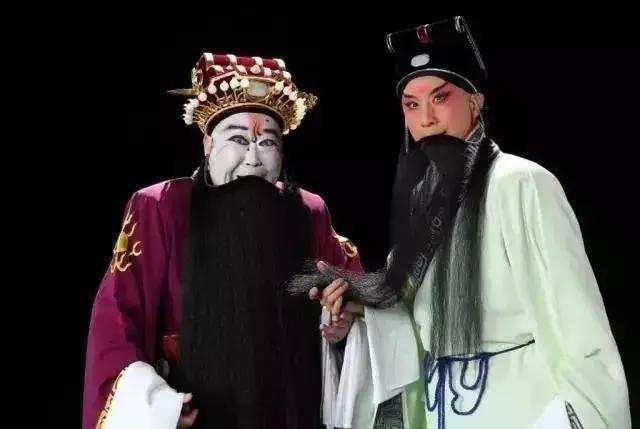 京劇大師尚長榮為傳承版《曹操與楊修》「把場」 - 每日頭條