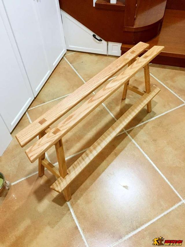 kitchen bench cushions glass backsplash 自制人体工程学长凳 坐着真的舒服 每日头条 给家里岛台做个长凳 仿宜家长凳改榫卯加脚垫条 小孩坐着吃饭超级舒服