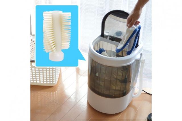 日公司推電水壺大小迷你洗鞋機,快速洗鞋 - 每日頭條