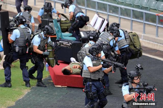 香港警方進行「火線」反恐演習 - 每日頭條