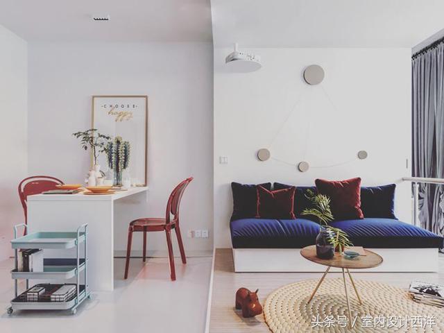 室內設計:一房一廳舞蹈家的迷你小公寓 - 每日頭條