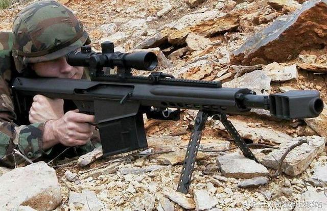 這支槍有多厲害:子彈快趕上榴彈炮了啊 - 每日頭條