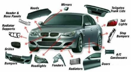 汽車的各部分的英語怎麼說 - 每日頭條