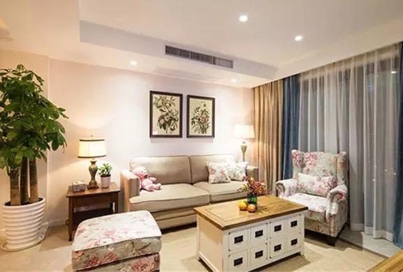 三室田園風格家庭客廳裝修圖 這樣的效果你喜歡麼? - 每日頭條