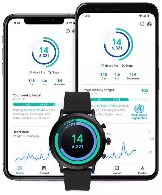 谷歌健身追蹤應用迎來新UI 更加強調步數和心率 - 每日頭條