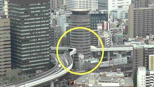 日本最「霸道」釘子戶。寧願公路穿過自己。也絕不拆遷 - 每日頭條