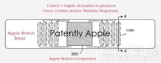 蘋果新專利顯示Apple Watch錶帶將加入震動馬達 - 每日頭條