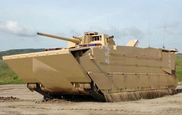 美國AAAV兩棲突擊車雖然水上速度最快 但我軍05戰車也不差 - 每日頭條