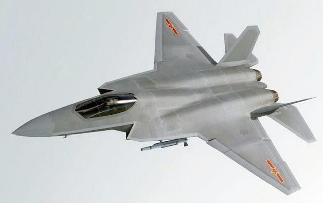 啥時候上艦?艦載機版的中國殲31戰機CG圖曝光 - 每日頭條
