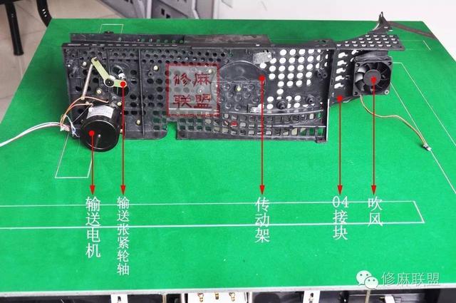 麻將機維修之04輸送系統結構概述 - 每日頭條