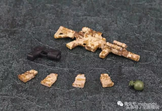 資訊:FigureBase 5寸Q版兵人 小隊長&步槍手 - 每日頭條