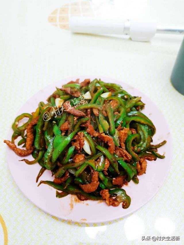 四川的味道是辣椒,家的味道是青椒肉絲,解讀不一樣的青椒肉絲 - 每日頭條