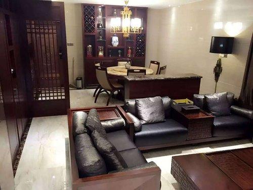 深圳國都高爾夫花園二期。110平三室中式風格(實拍)。30萬造價 - 每日頭條