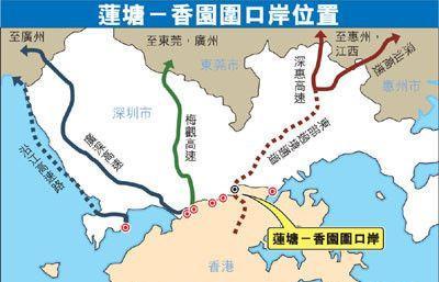 地鐵13號線擬引入深圳灣口岸 蓮塘口岸2018年開通 - 每日頭條