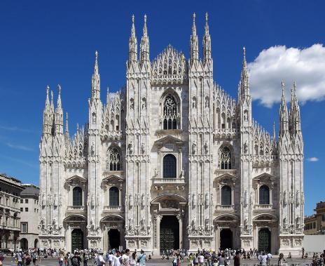 米蘭大教堂-經歷了歐洲千年的歷史滄桑 - 每日頭條