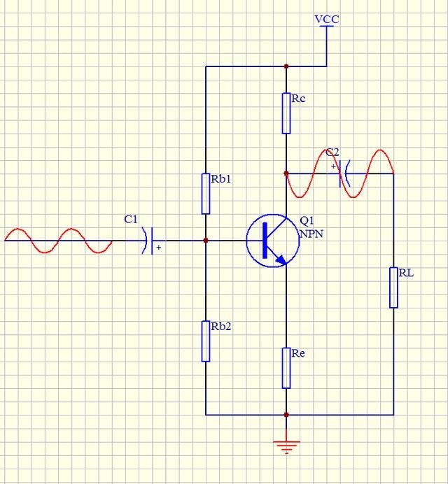 共射極放大電路的輸出信號是怎麼反相的? - 每日頭條