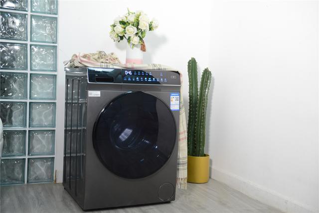 不去乾洗店也能消毒,海爾晶彩直驅變頻滾筒洗衣機 - 每日頭條