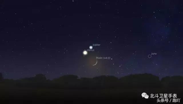 「雙星伴月」奇觀。你見過幾回? - 每日頭條