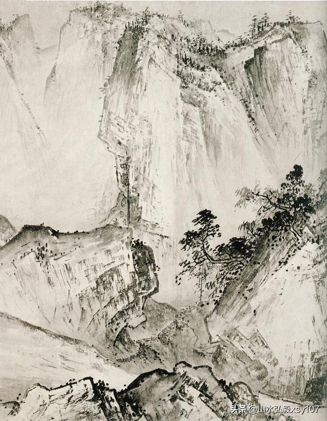 夏圭《溪山清遠圖》臨摹要點精講 - 每日頭條