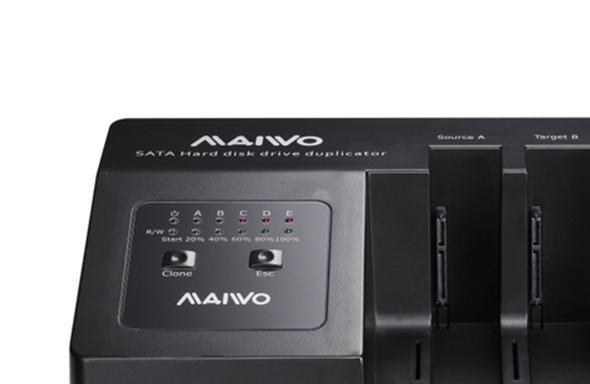 一鍵克隆!MAIWO K3095硬碟座拷貝機使用指南! - 每日頭條