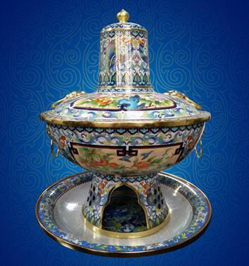 京景景泰藍新作「景泰藍火鍋」新鮮出爐 - 每日頭條