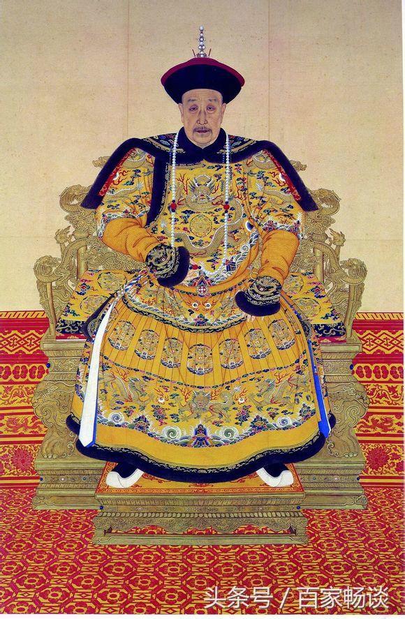 乾隆皇帝,清朝末路的開起 - 每日頭條