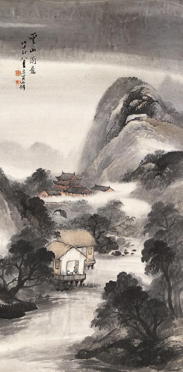 吳石仙山水畫欣賞 - 每日頭條
