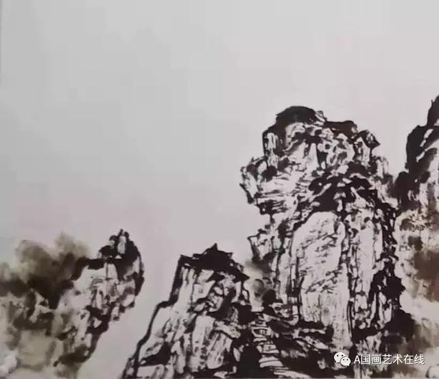 國畫技法——山水的幾種畫法 - 每日頭條