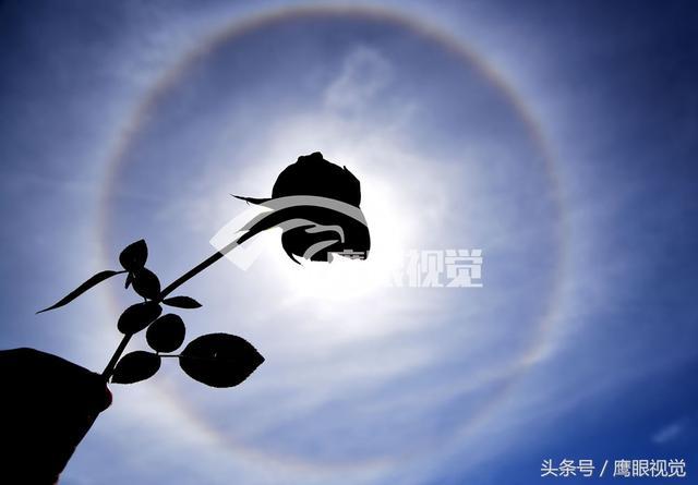 日暈幻日彩虹奇觀美不勝收!日暈是怎麼形成的?有何預兆? - 每日頭條