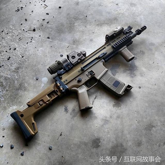 槍火27。FN SCAR 突擊步槍。壕的生活你不懂。超貴 - 每日頭條