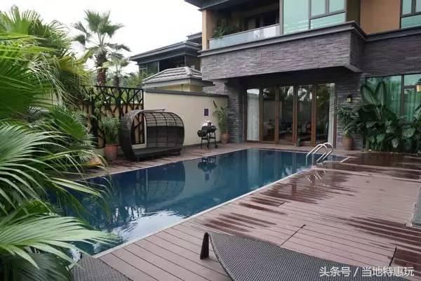 中國頂級奢華溫泉別墅:溫泉,泳池,櫻花,濕地公園 - 每日頭條