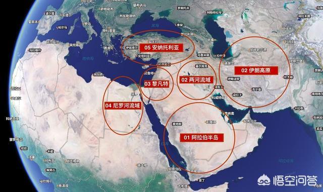 位置決定命運?為何三洲交界的中東會成為世界上最動盪的地區? - 每日頭條