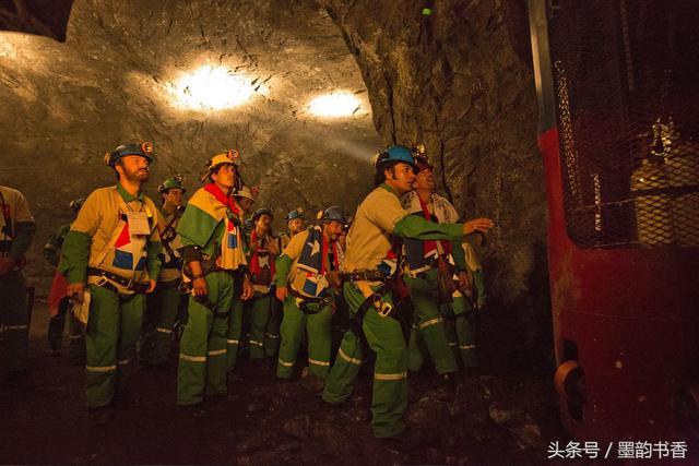 《地心營救》礦難塌方33名礦工被困69天全部生還 - 每日頭條