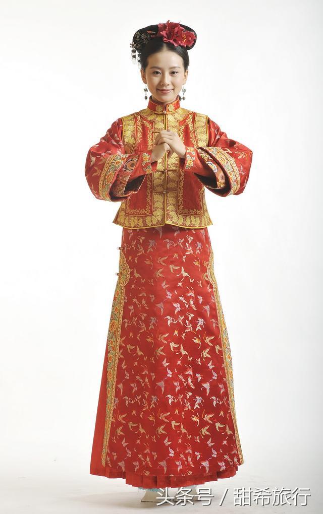 中國古代漢服和清朝服飾不一樣的美 - 每日頭條