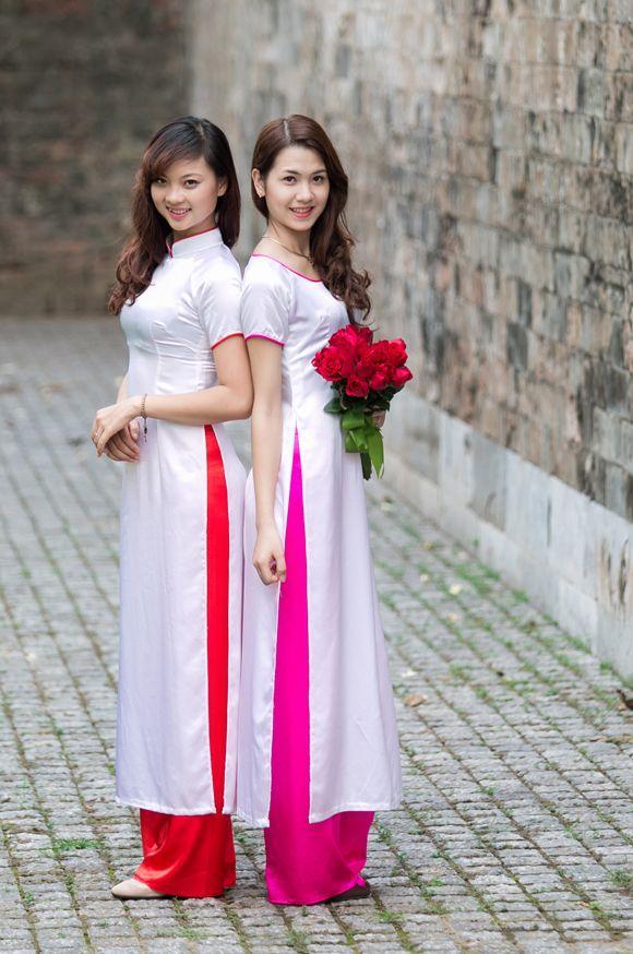 實拍:身穿傳統服飾的越南女人 - 每日頭條