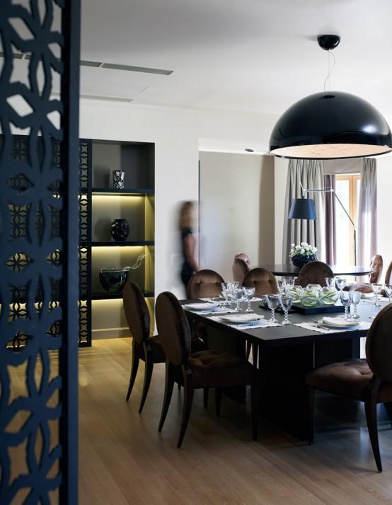lowes kitchen aid free standing counter 实拍极品装修案例 这才叫低调的奢华 每日头条 客厅隐藏的壁炉 巨大的黑色纱灯和现代咖啡桌 充分体现了整套房子的轻奢华现代风格
