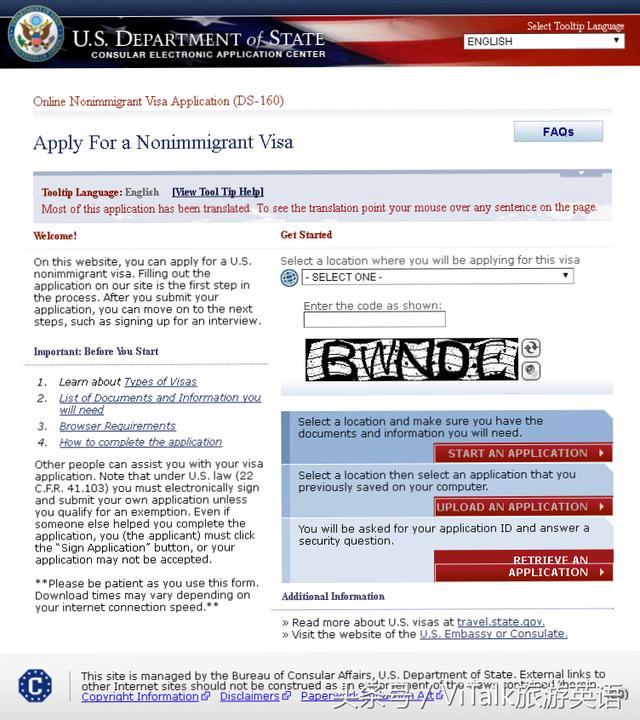 簽證申請丨面簽必備的英語口語「美國篇」 - 每日頭條
