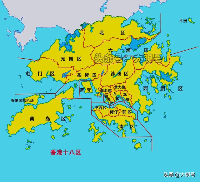 圖說香港的填海工程,百餘年時間增加了6.7%的陸地面積 - 每日頭條