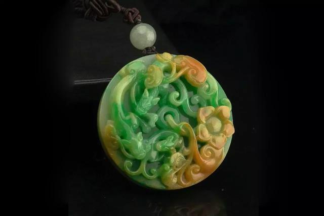 翡翠品種:黃加綠 - 每日頭條