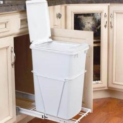 Kitchen Trash Bin Cabinets Paint Colors 这些厨房垃圾桶不光有创意 而且实用 每日头条