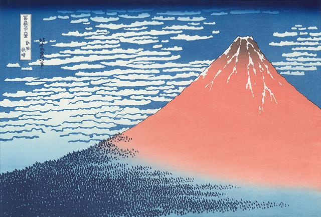 日本最牛畫家,筆下44幅富士山圖,那叫一個美! - 每日頭條